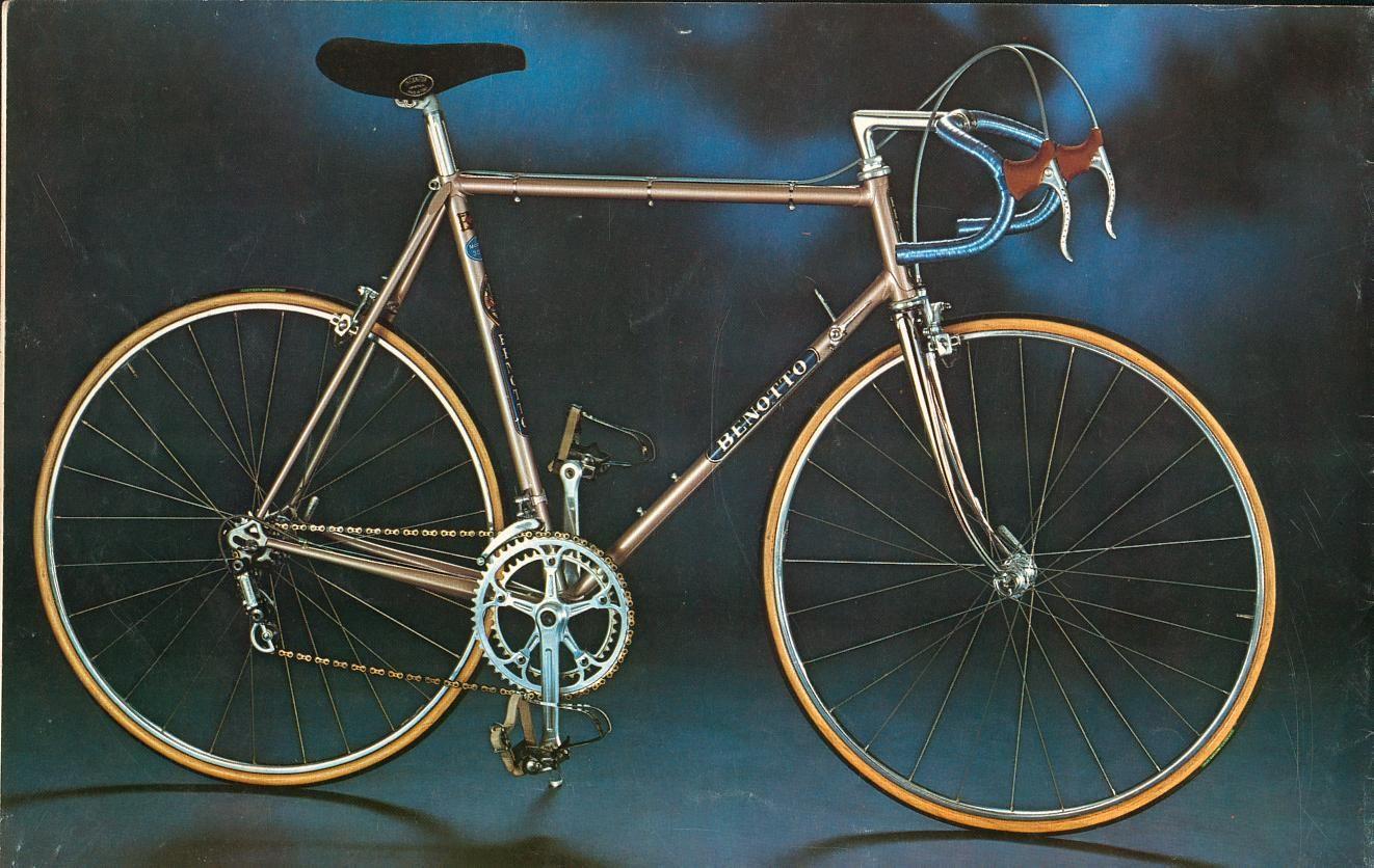 1976 Benotto Bicycle Classic Road Bike Bike