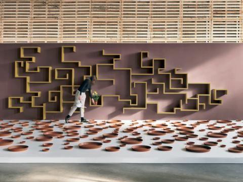 Ungewöhnliche Regale von Lago fürs Wohnzimmer | Wand & Beet