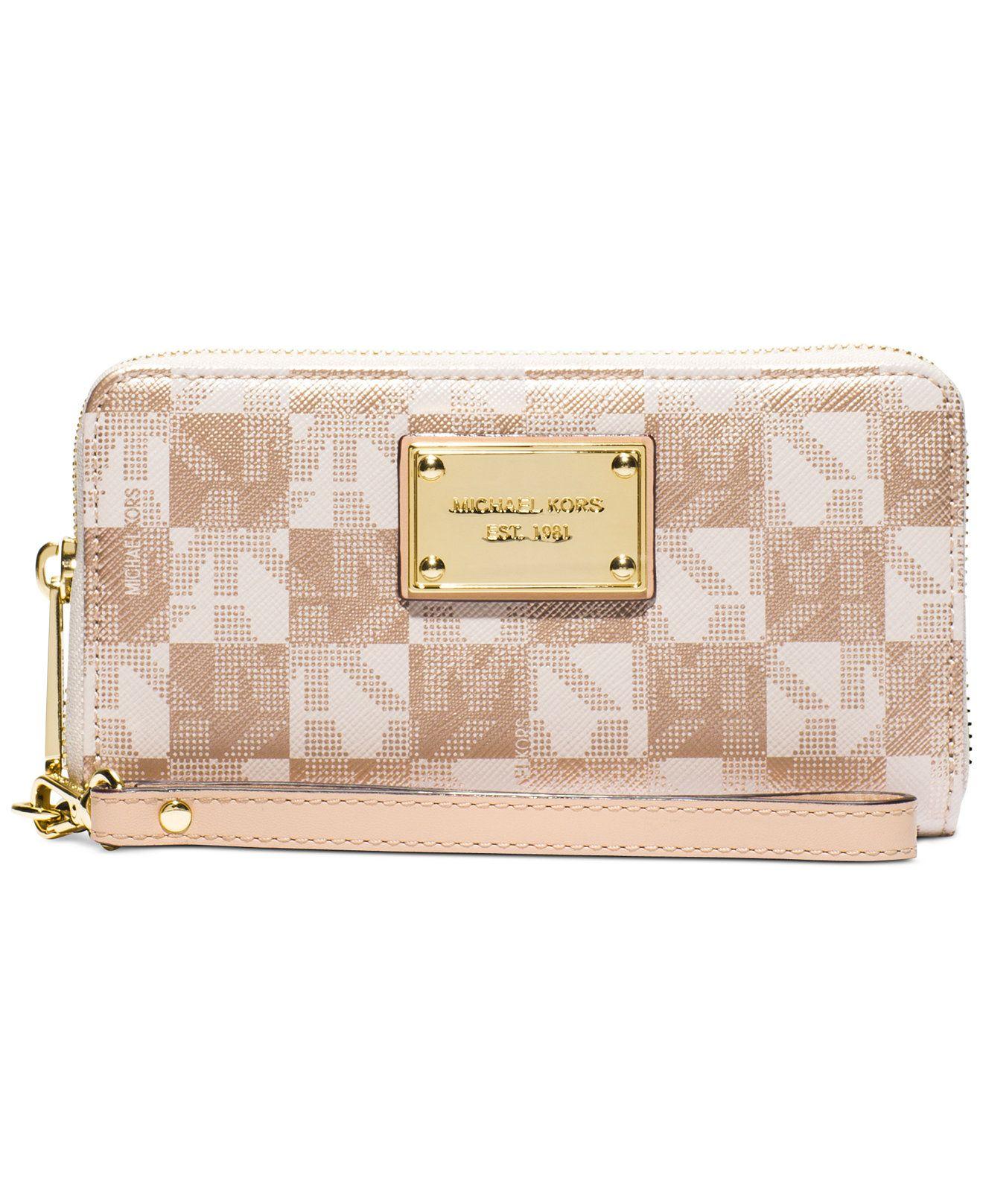 1298f5876099 MICHAEL Michael Kors Jet Set Item Large Coin Multifunction Wallet - Handbags    Accessories - Macy s
