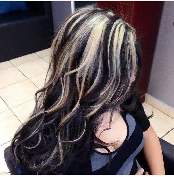 Mechones Beige Hair Styles Balayage Hair Blonde Highlights On Dark Hair