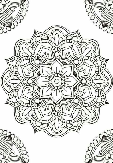 Pin de Erika Pamela en mandala | Pinterest | Mandalas, Repujado y ...