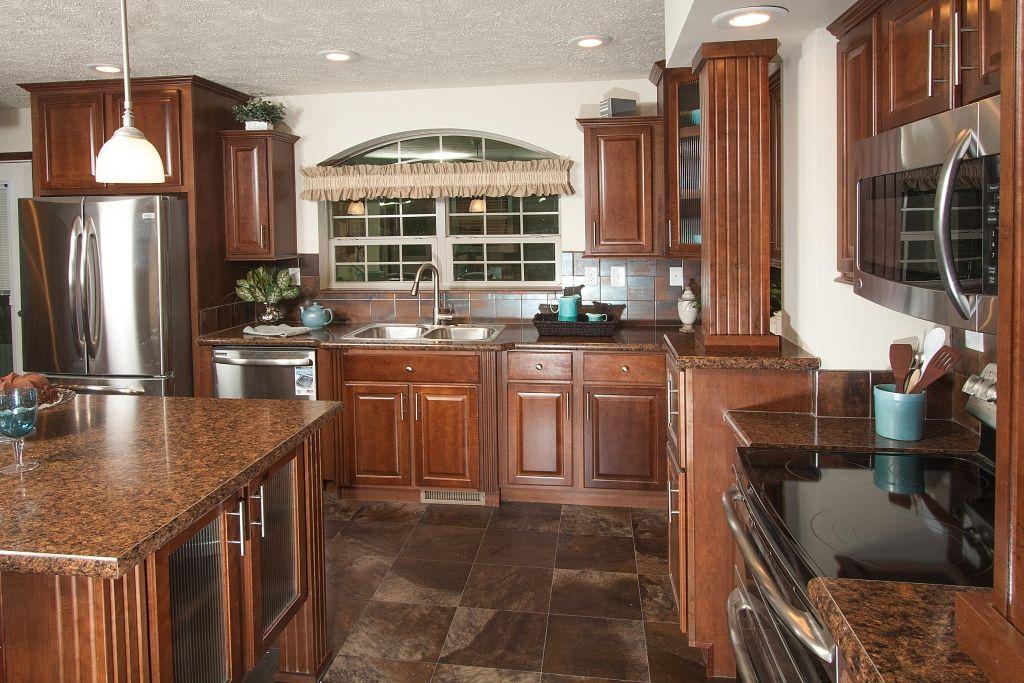 Bellevue AU208A - Aurora Classic Ranch Modular Kitchen ...