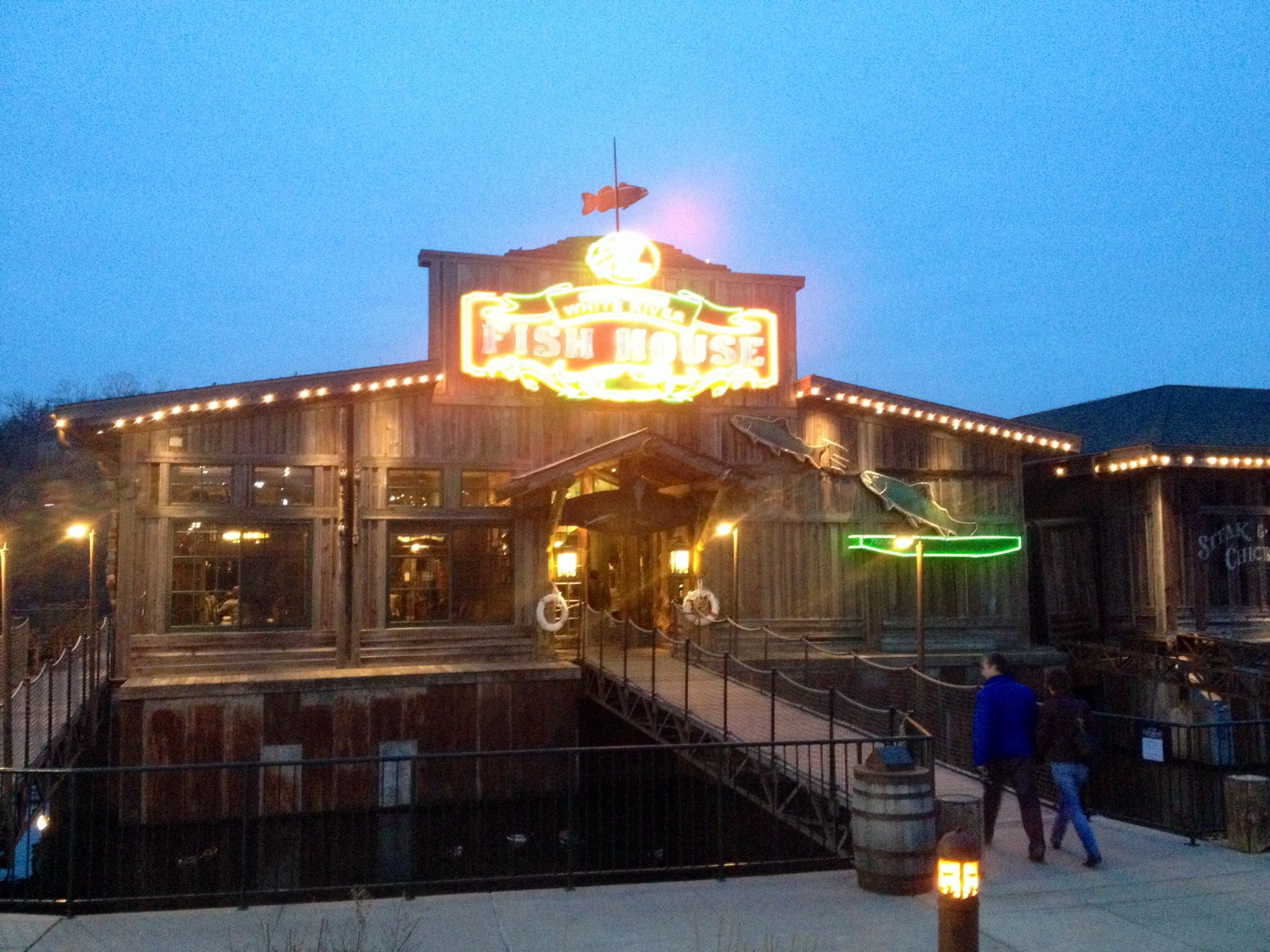 White River Fish House By The Bass Pro At The Landing In Branson Mo Fish House River Fishing White River