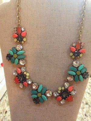 Pair this Stella & Dot Necklace with a Navy dress. Styled perfection.