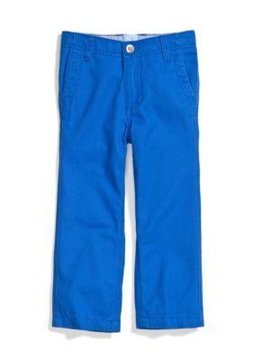 J Khaki   Flat Front Fashion Twill Pants Toddler Boy