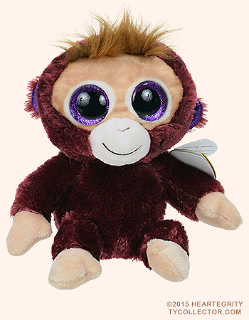 f31a650b38d Boris - monkey - Ty Beanie Boos Birthday  February 15 Beanie Boo Birthdays