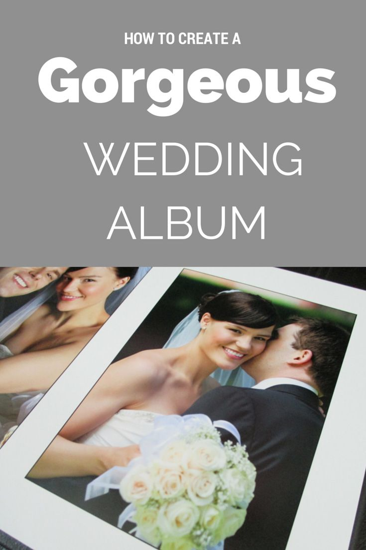Looking to make your own wedding album? We can help! / Best DIY Wedding