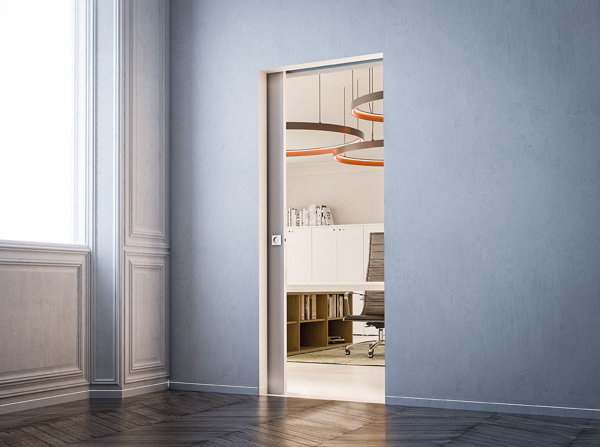Syntesiscollection No Jambs No Architraves Pocket Door