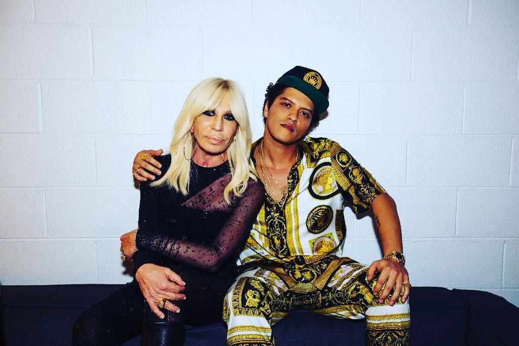 Donatella Versace And Models Lip Sync Bruno Mars In Loving Tribute