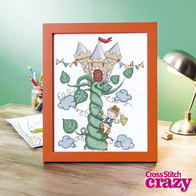 Crazy_217_stitchwith_CC Crafts, Cross stitch, Jack, the