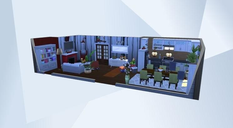 Sieh dir dieses Zimmer in der Die Sims 4-Galerie an! - #lanie#küche