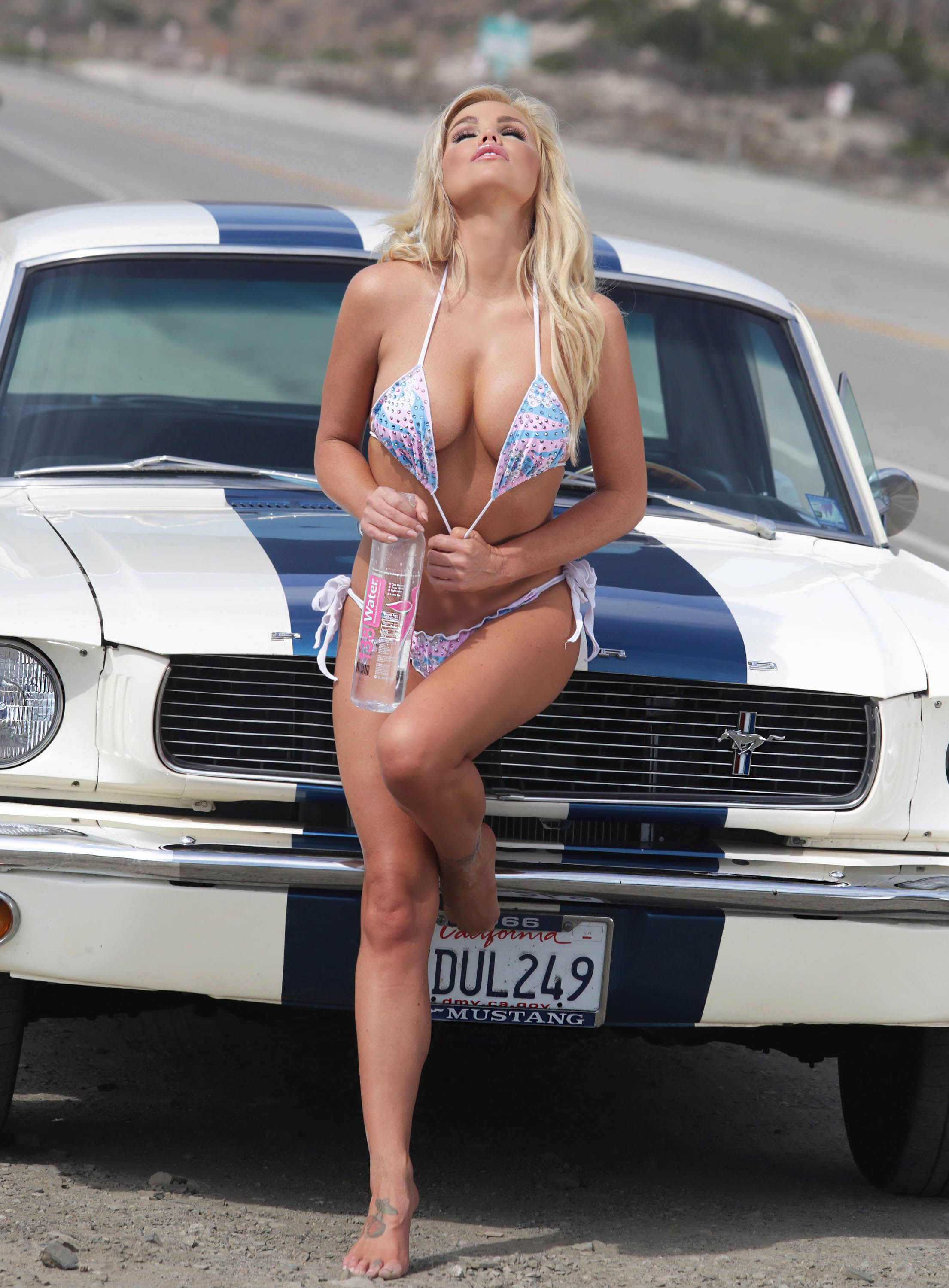 Are not hot girls and mustang cars consider, that