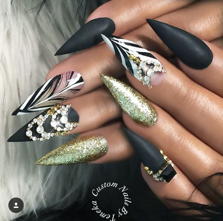 Pin by anita roa on girlies pinterest sexy nails bling nails noice prinsesfo Gallery