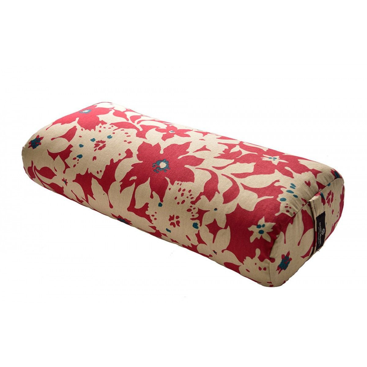 This handmade bolster combines just the right amount of inner