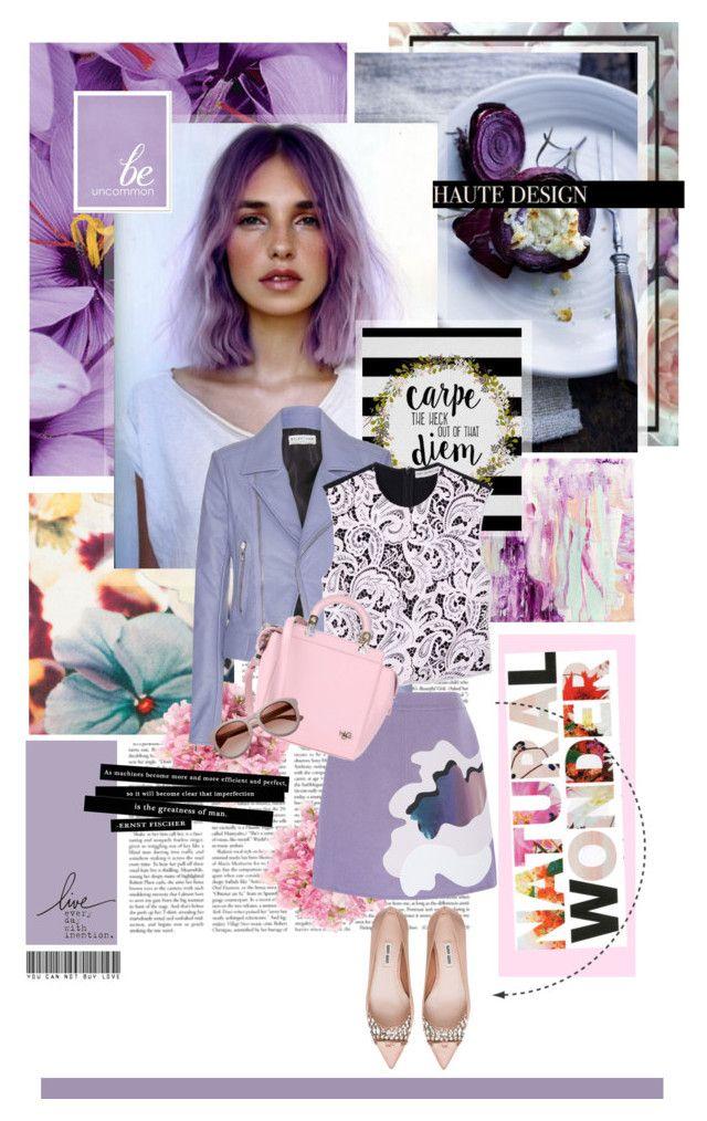 """Perfect Pastels"" by ohmylady ❤ liked on Polyvore featuring Paul Smith, Balenciaga, Mary Katrantzou, Givenchy, Miu Miu and pastels"
