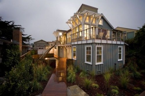Breakers Beach House Contemporary Exterior San Francisco Noel Cross Architects