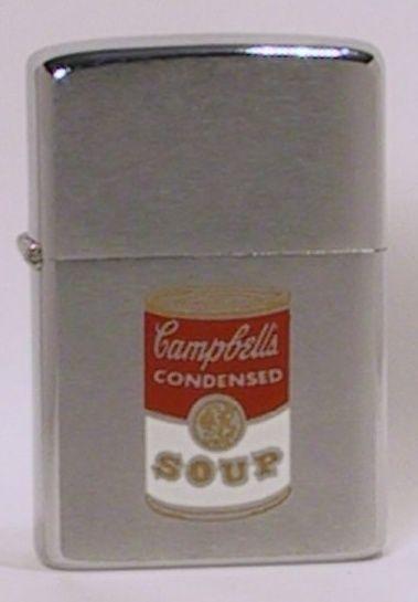 Campbell's Soup Zippo Lighter Zippo, Zippo collection