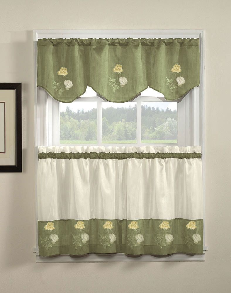 Kitchen Curtain Designs Rose Kitchen Curtains And Valances 7 Cute Kitchen Curtains And