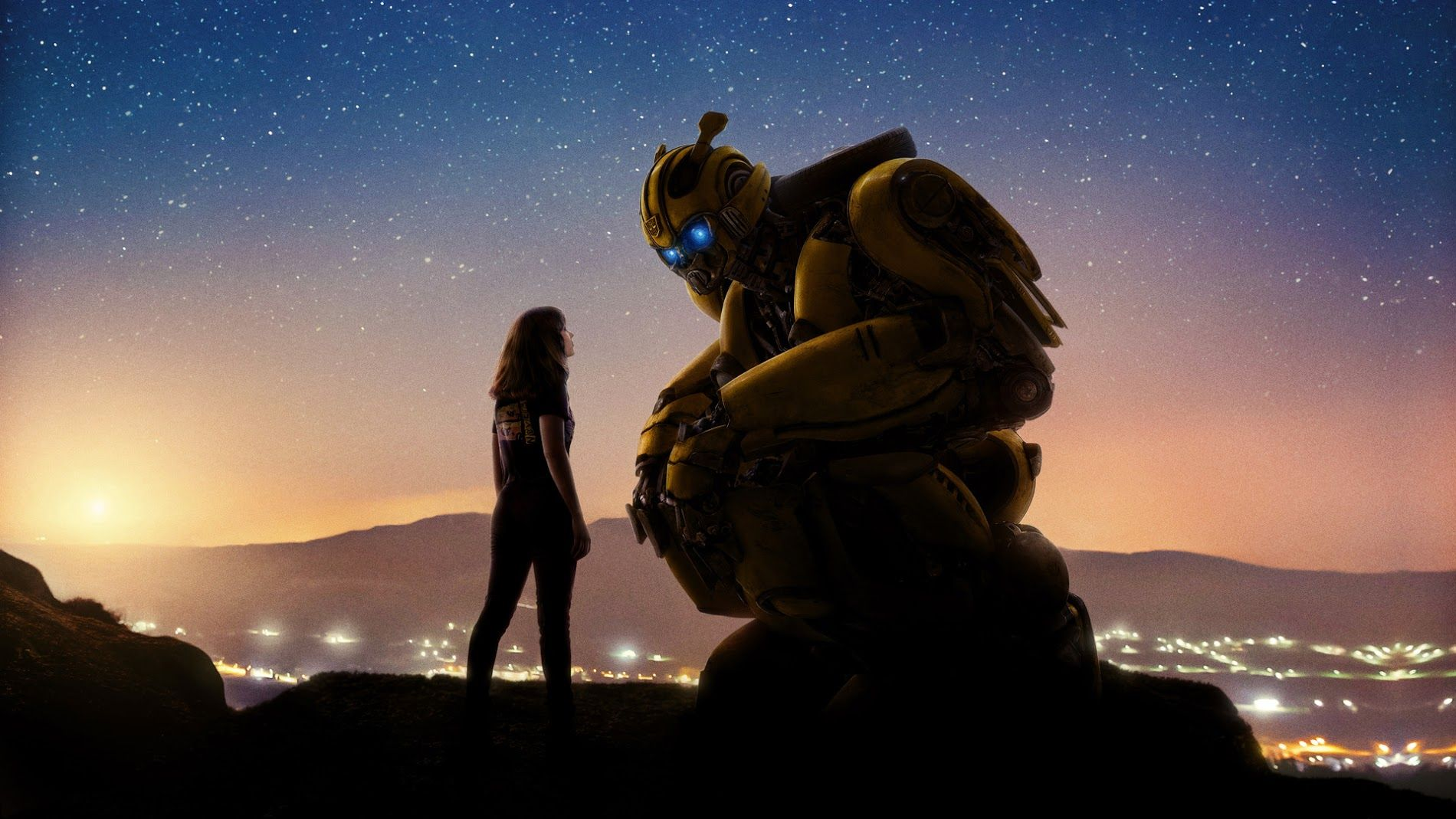 Bumblebee Movie 2018 Cool New Poster Filme Transformers Filmes