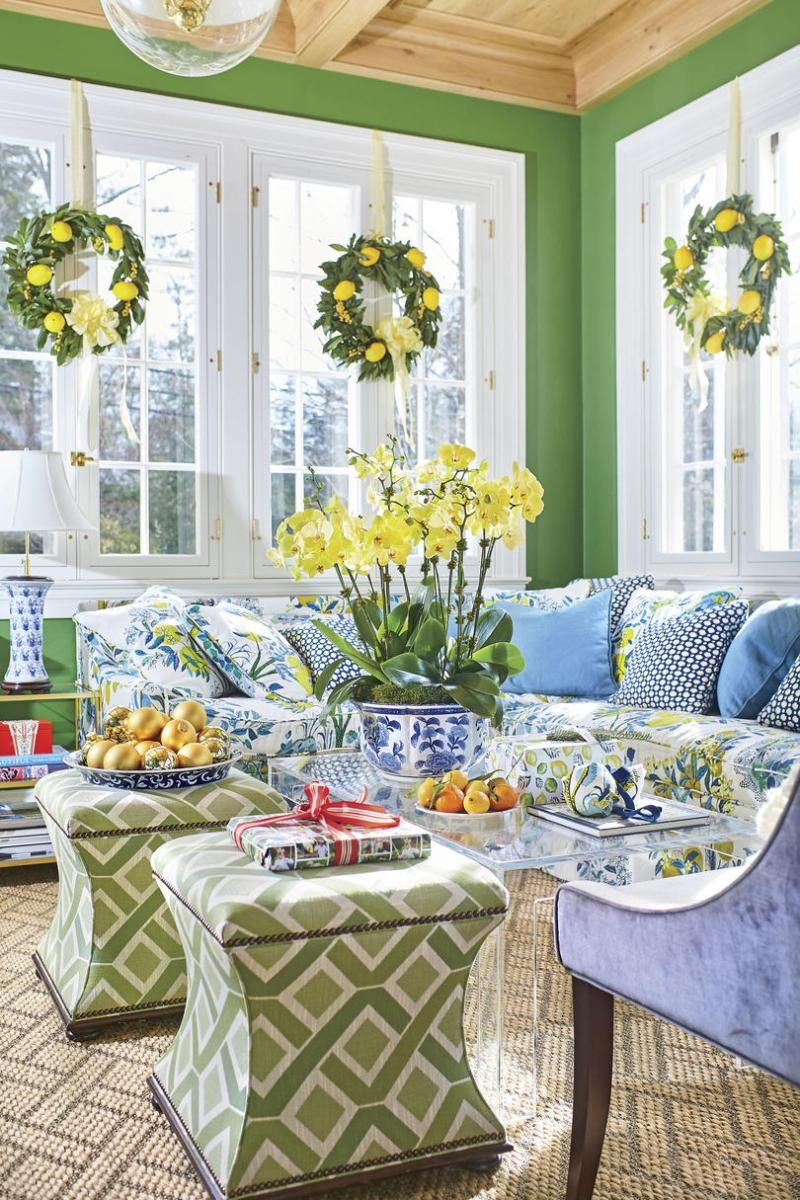 spring sunroom house colors southern living rooms home on living room color inspiration id=89850
