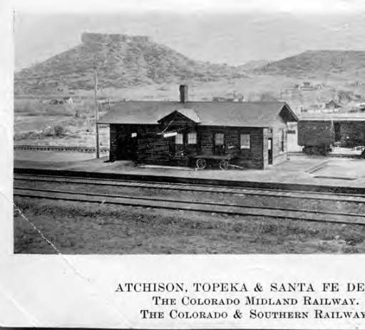 home depot castle rock atchison topeka amp santa fe depot the colorado midland 10331