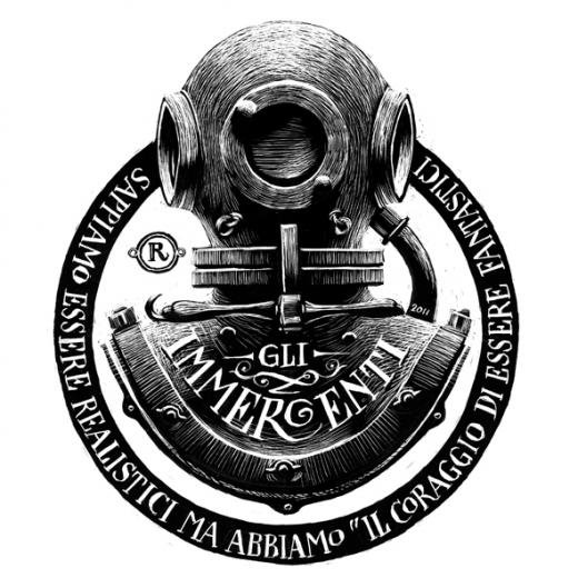 The World Of Dot Diving Logo Illustration Design Dark Souls Art