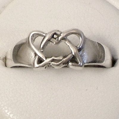 Birth Mom Gift Idea Sterling Silver Adoption Symbol Ring James 1
