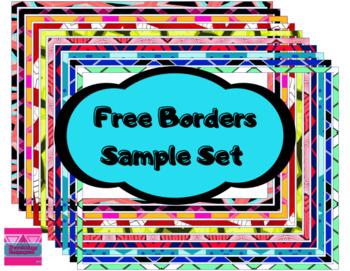 Free Page Borders- Sample Set