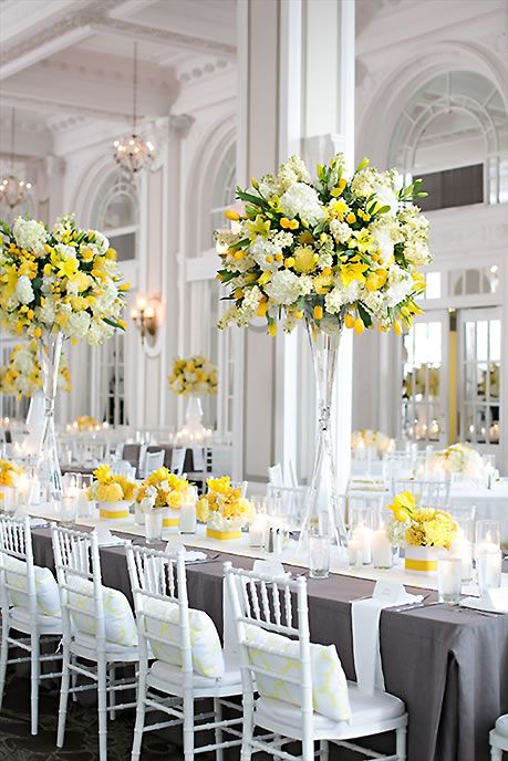 Beautiful tall arrangements for the tables For planning inspiration