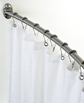 Charter Club Curved Shower Curtain Rod Bathroom Accessories