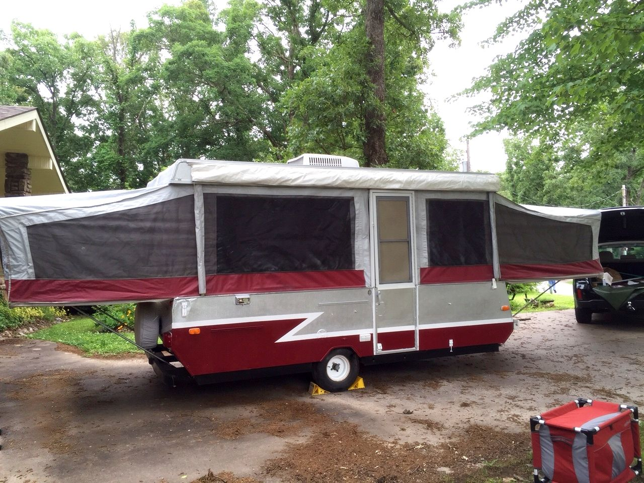 Finished As Of 5 20 15 Remodeled Campers Popup Camper