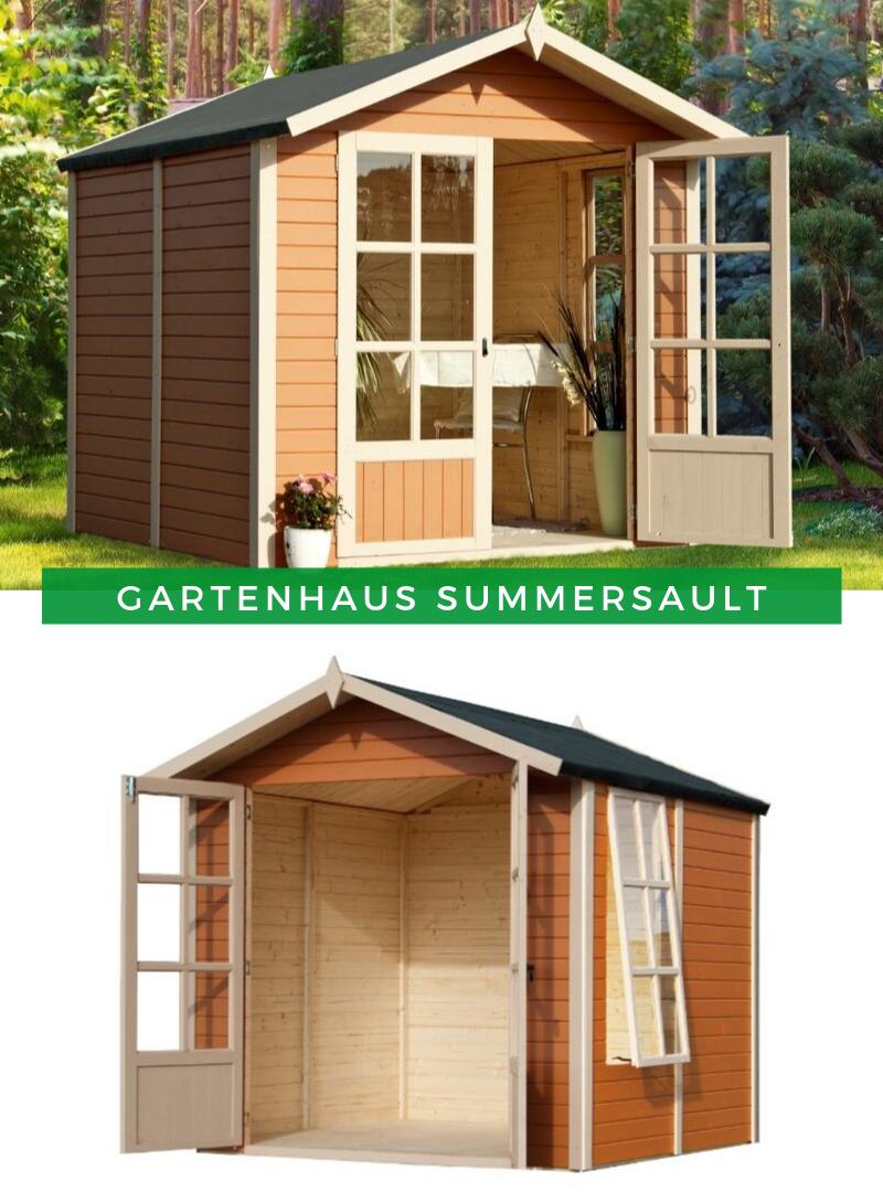 Gartenhaus Satteldach Gartenhaus Summersault Gartenhaus Kleines Gartenhaus Sommerhaus