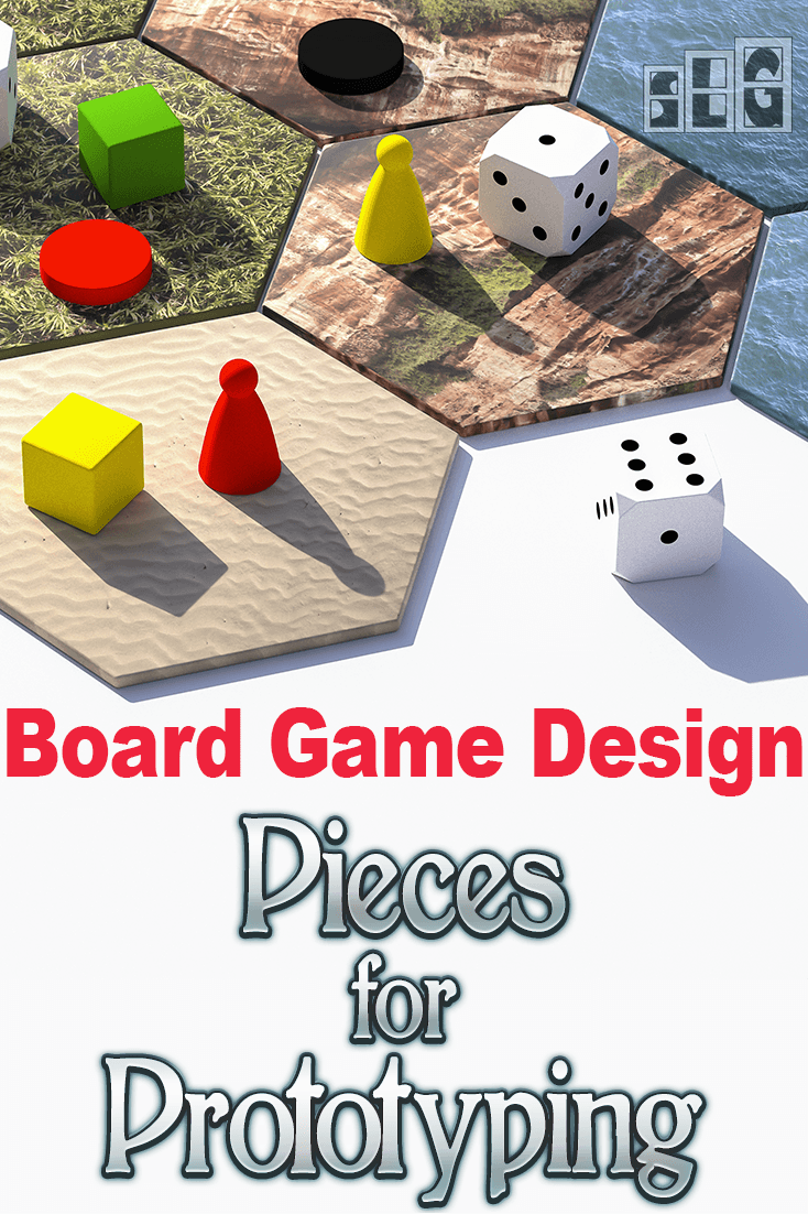 12 Useful Board Game Pieces For Making Your Game Juego De Mesa
