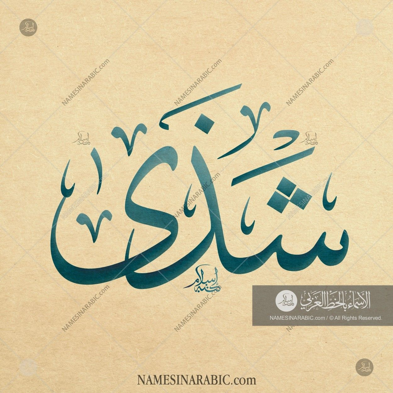 Shatha شذى Names In Arabic Calligraphy Name 3867 Calligraphy Calligraphy Name Arabic Calligraphy Tattoo