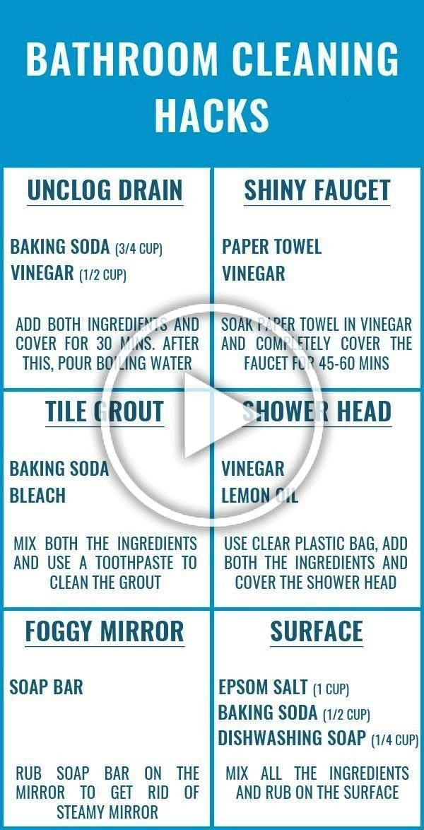are the BEST bathroom cleaning hacks are that beyond genius Glad to have found these amazing bathroom cleaning tips and checklist Definitely pinning for laterThese are th...