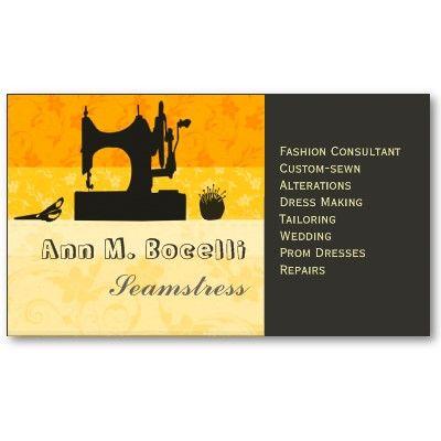 Bold Gold Artist Crafter Sewing Machine Customized Business Card Zazzle Com Artist Business Cards Custom Business Cards Business Card Design