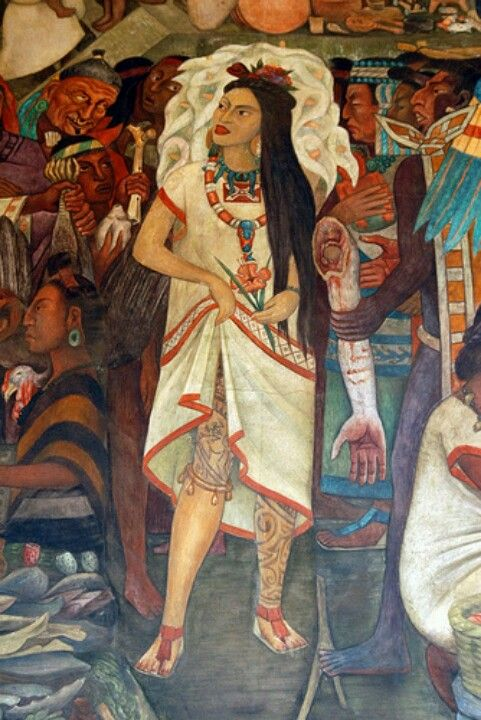 Image result for la malinche painting