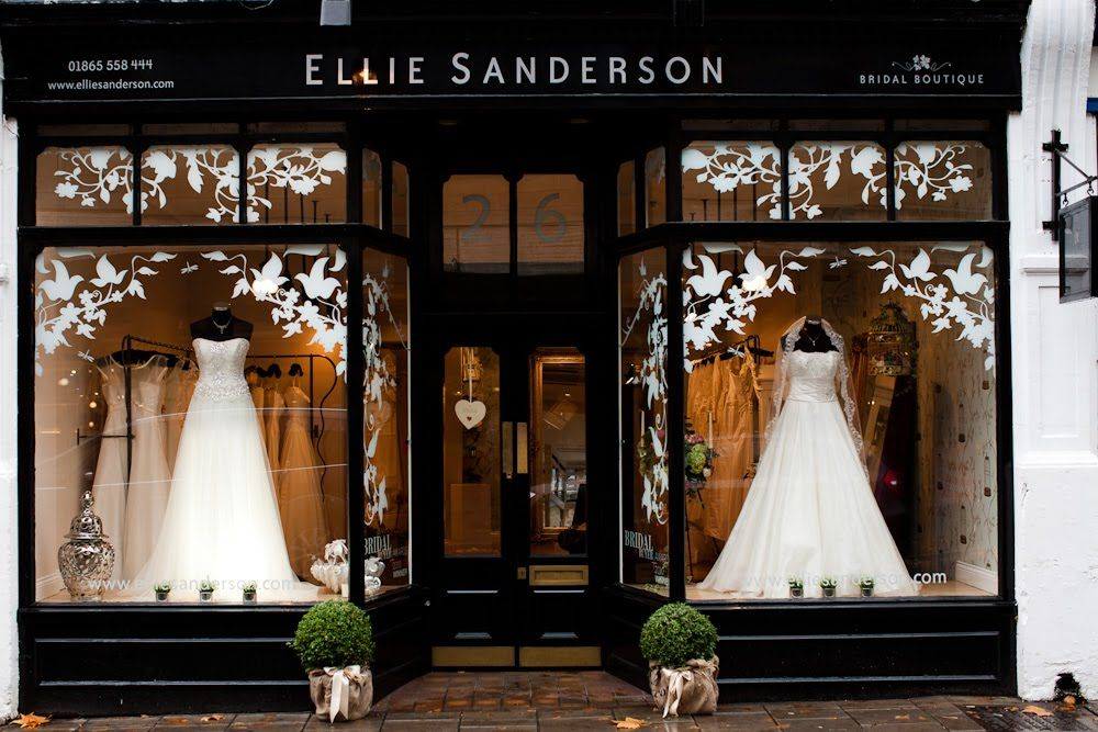 Ellie Sanderson Bridal Boutique - Hummingbird Card Company Blog ...
