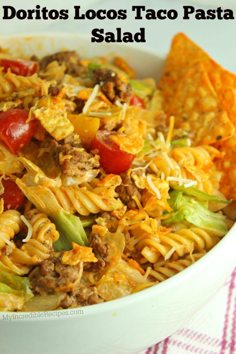 Doritos Locos Taco Pasta Salad