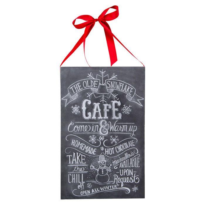 Snowflake Cafe Wall Decor - A Christmas Story on Joss & Main