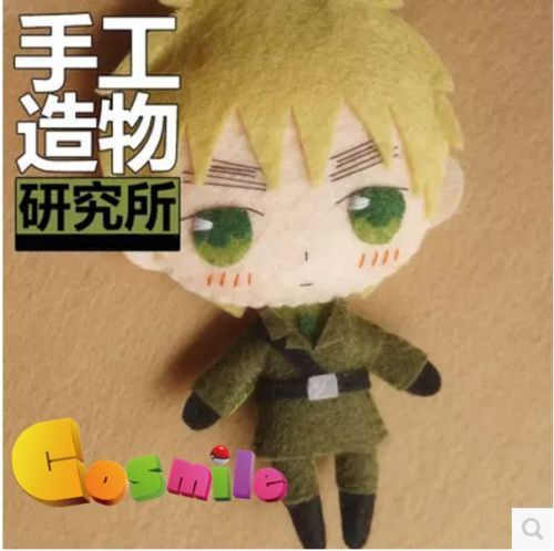 Anime-APH-British-Eyebrow-Powers-Italy-Cute-DIY-Material-toy-Doll-keychain
