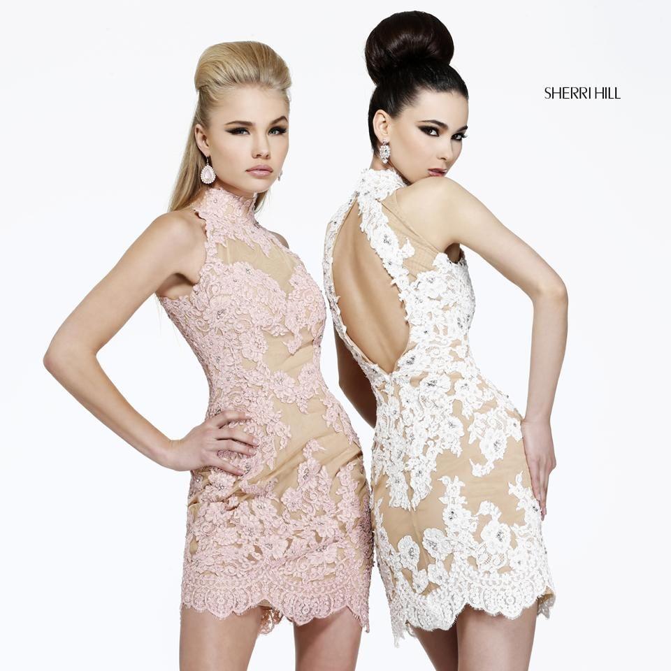 Sherri hill lace wedding dress  SherriHill fashion  Sherri Hill  Pinterest  Fashion