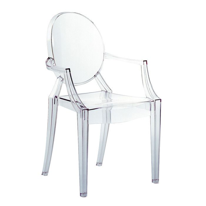 We can get a chair just like this!!--Kartell Louis Ghost Chair ...