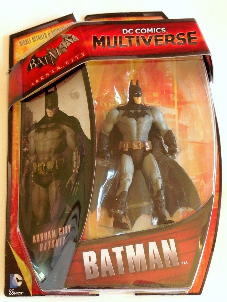 Dc Comics Multiverse Action Figure Batman Arkham City Origins Grey Batsuit Mattel Batman Arkham City Arkham City Batman Arkham