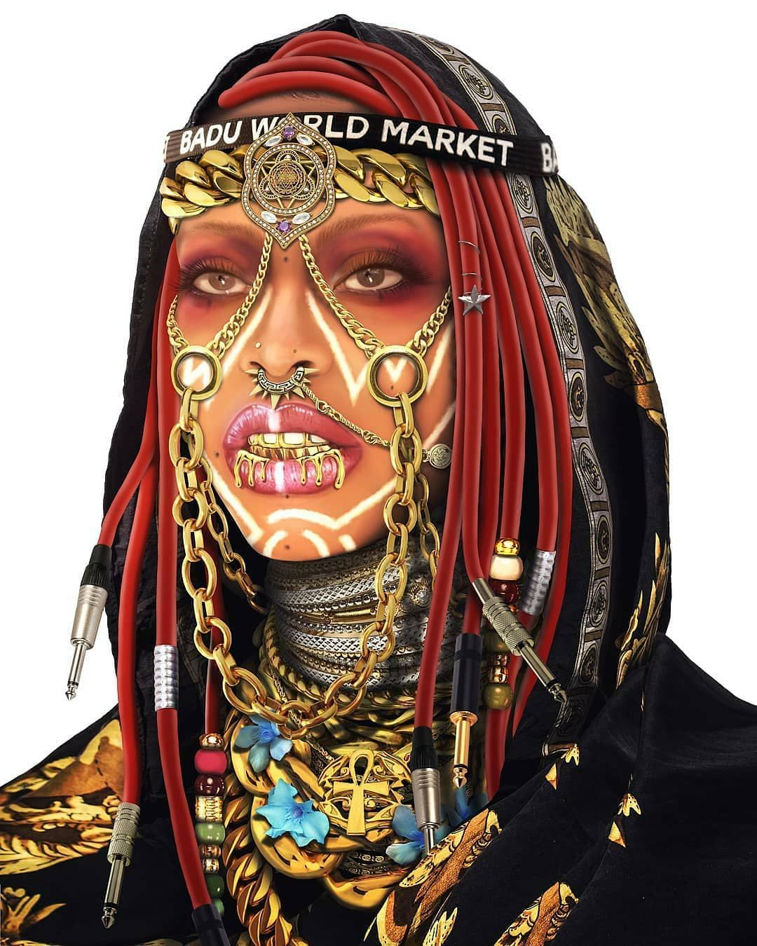 😍💙 #Dopeblackart by @yung.yemi x @erykahbadu   #photography#blackart #artoftheday#artfeature #artdaily #igart#digitaldrawing #realisticdrawing #pencildrawing #artspotlight #igartist #drawing #coolart #dopeart #blackartwork #artgallery #supportblackart #blackartist #coolartwork #artfido#artlife #artwork #dopeblackartist