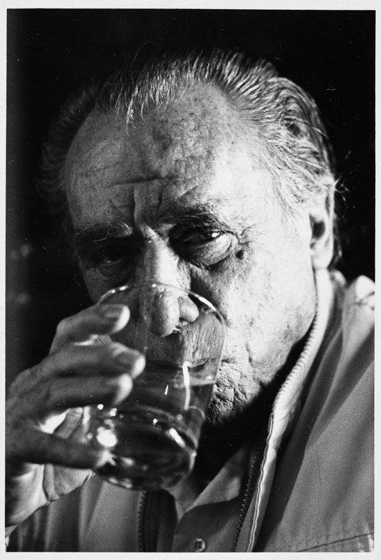 Charles Bukowski's pairing:  Sicilian red wine (from Mt. Etna's Nerollo grape)  --(born Heinrich Karl Bukowski; August 16, 1920 – March 9, 1994) was a German-born American poet, novelist and short story writer.
