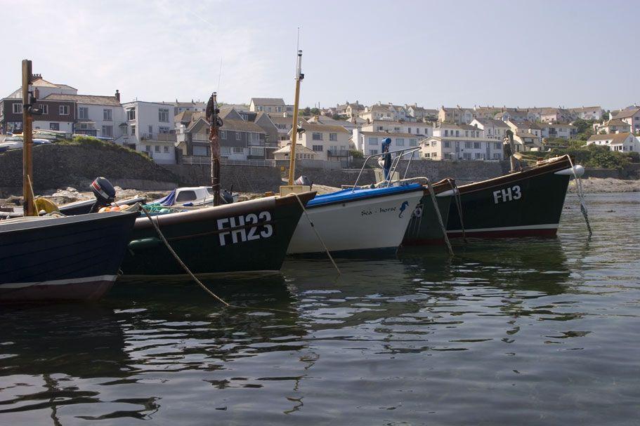 Portscatho Boats - Cornwall Guide Photos