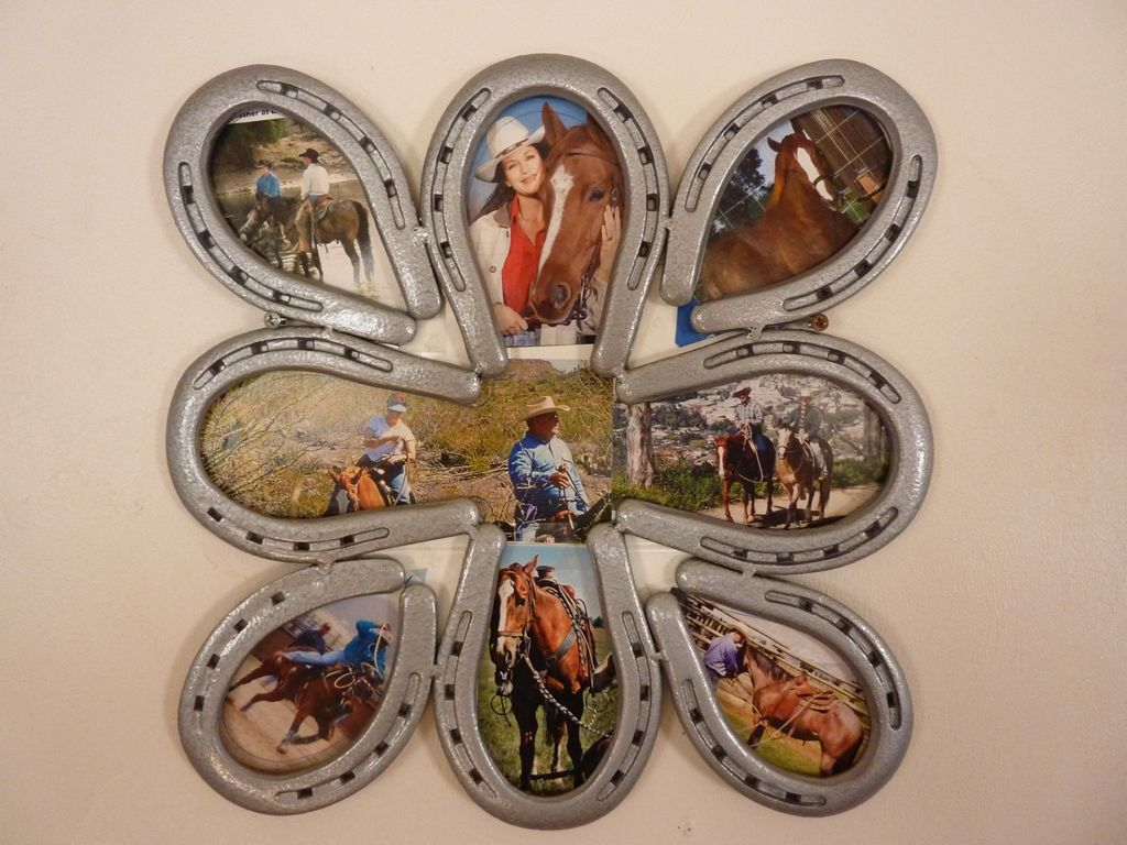 horseshoe collage i need to do this as well great idea and very