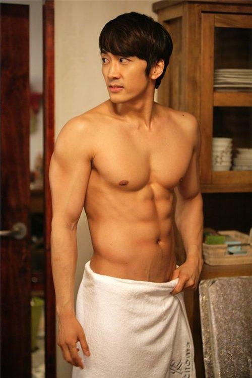 Half asian shower
