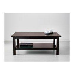 hemnes coffee table - black-brown - ikea $149.00 - need this for
